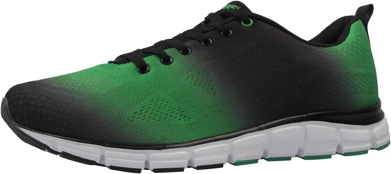 Boras Boras - Herren Turnschuhe - Grün Schwarz Schuhe in überGrößen  schnelle Lieferung