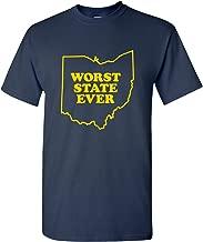 UGP Campus Apparel Worst State Ever Basic Cotton T-Shirt