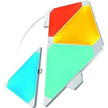 Nanoleaf Light Panels 4 W, Muticolore (RGBW), Starter Kit - 4 Pannelli
