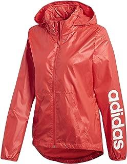 adidas Women's Linear Windbreaker Jacket, Womens, S1754WJK403