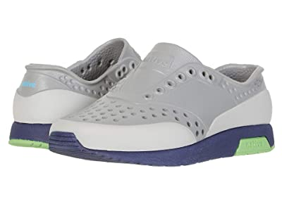 Native Kids Shoes Lennox Block (Toddler/Little Kid) (Pigeon Grey/Regatta Blue/Grasshopper Green/Tundra Block) Boy