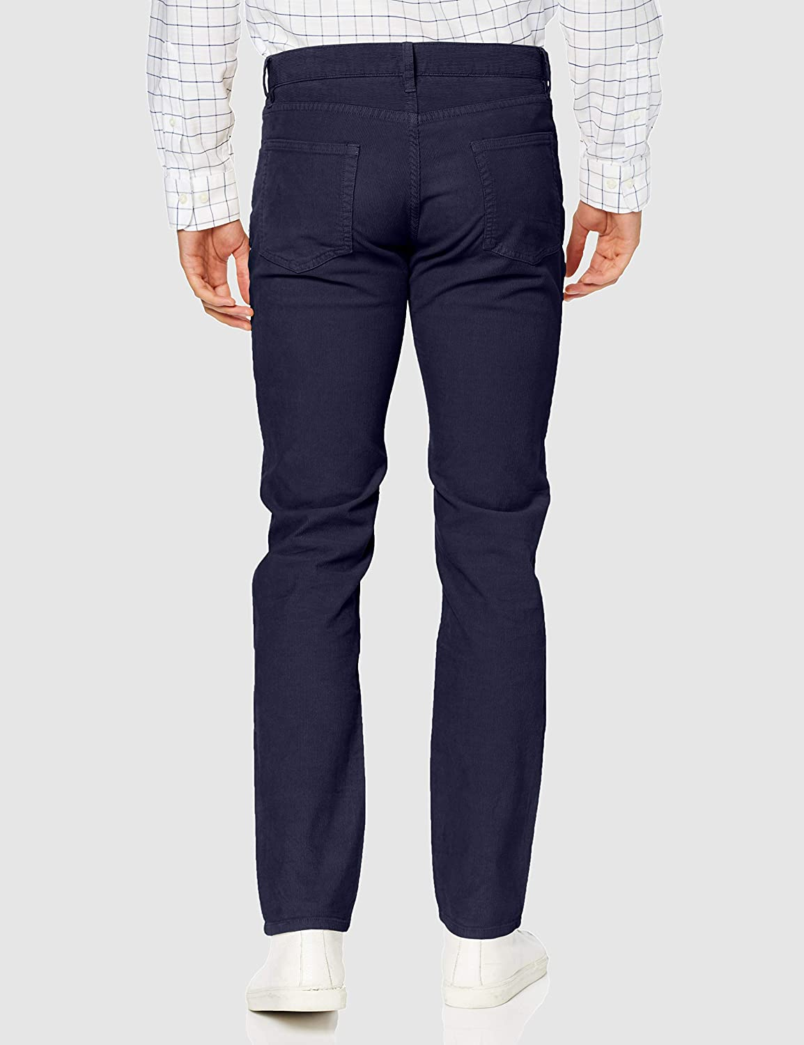 Brooks Brothers Men's Trouser Blue (Blue 400)