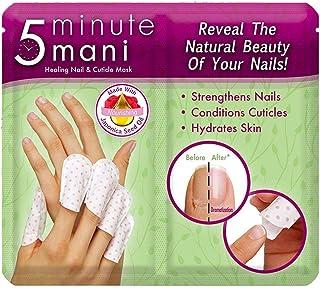 5 Minute Mani: Healing nail & Cuticle Mask, nail Care, New TV product, nail guard, nail manicure, nail guard cover