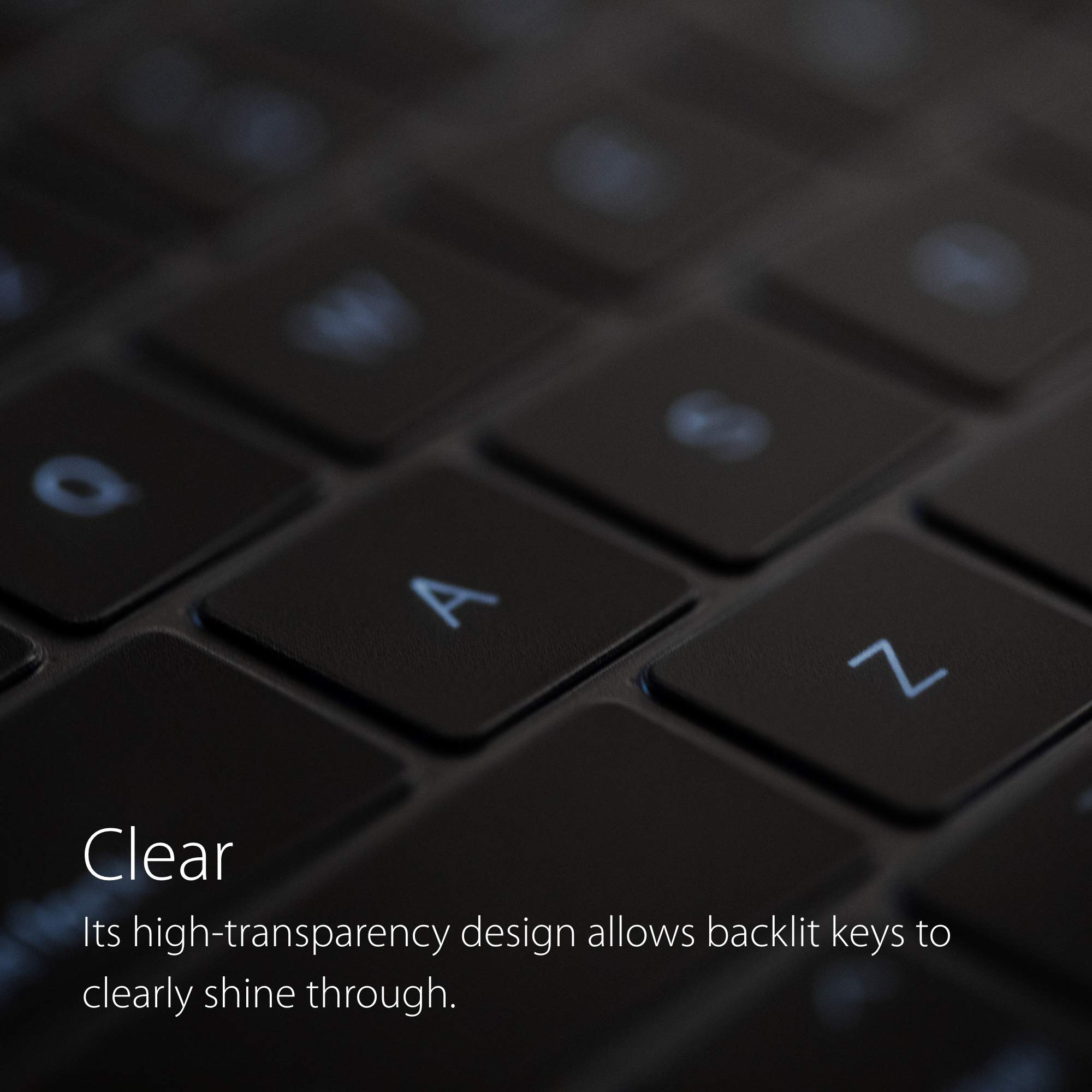 Moshi ClearGuard 2019 Protector de Teclado para MacBook Pro 16