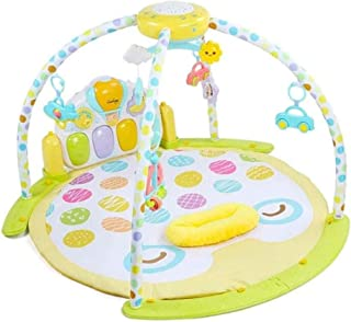 Newborn Play mat fence,Baby Play Gym Mats Play Piano Gym Multifunction Infant Playmat Floor Mat with Music Sounds and Ligh...