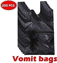 Bianco HEALLILY 25pcs Borse Vomito monouso Borse Emesis Barf per Motion Sickness e Morning Sickness Paper Puke Bag
