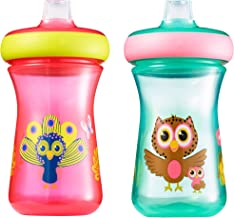 The First Years Soft Spout Sippy Cups, 9 Ounces (Pack of 2)