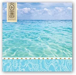 Michel Design Works 20-Count 3-Ply Paper Cocktail Napkins, Beach