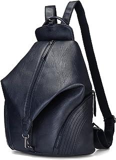 JOSEKO Rucksäcke Damen, Mode Rucksack Fraun Schultertasche Diebstahlsichere Tasche Casual Schulrucksack Messenger Tasche H...
