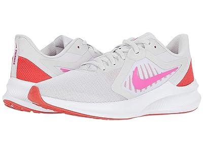 Nike Downshifter 10 (Vast Grey/Fire Pink/Ember Glow/White) Women