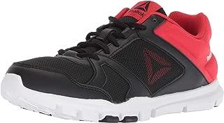 Kids Reebok Girls Yourflex Train 10 Low Top Lace Up Running Sneaker (Renewed)