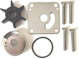 EMP Water Pump Impeller Kit for Mercury Outboard 30 35 40 45 50 60 65 70 Hp with Plastic Water Pump 1963-1990 2,3/&4 Cyl Replaces 46-60366A1 18-3507 Read Item Description for Applications