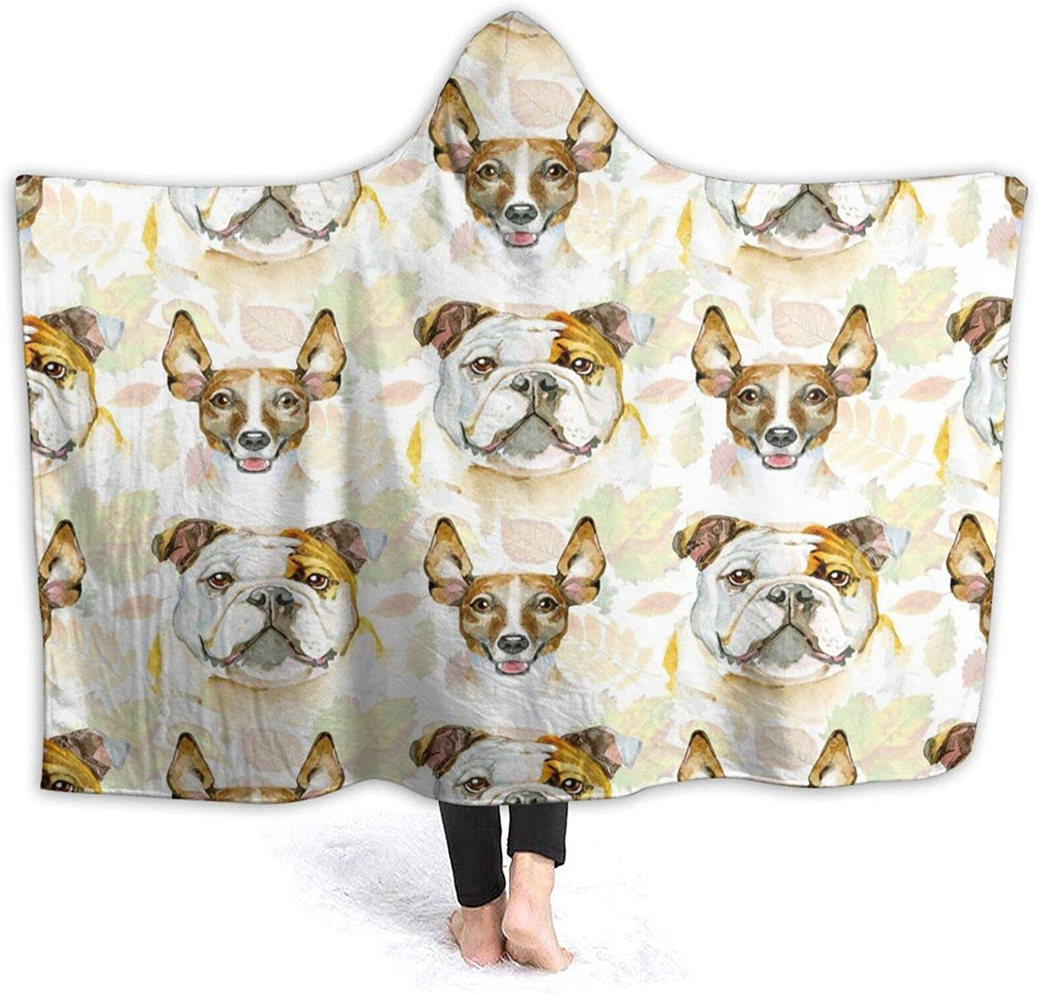 Unbeanded Corgi Dogs_WPS 2 Adult Oakland Mall Soldering H and Children Blanket Hoodie