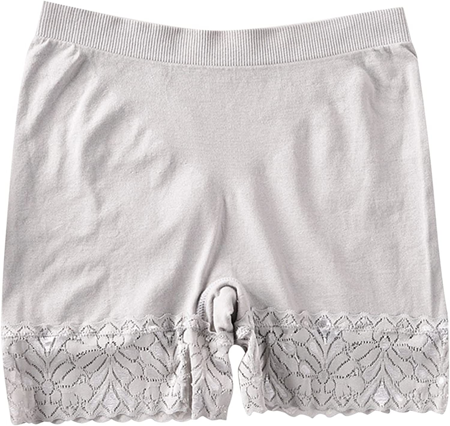 xoxing Women's Lingerie Midwaist Boxer Briefs Lifting Body Safety Underpants Underwear