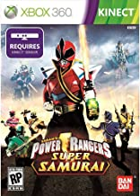 Power Rangers Super Samurai Xbox 360 Kinect - Factory Sealed