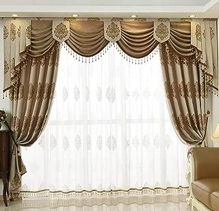 Best green jacquard curtains Reviews