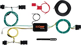 CURT 56274 Vehicle-Side Custom 4-Pin Trailer Wiring Harness, Fits Select Jeep Renegade