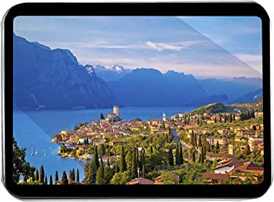 Malcesine, Italy - City Skyline & Lago di Garda at Dusk A-9008361 (Keepsake Tin)
