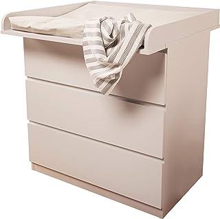 comprar comparacion Kidsaw - Cambiador para Ikea Malm, color blanco