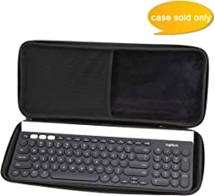 Aproca Hard Carry Travel Storage Case for Logitech K780 Multi-Device Wireless Keyboard (Grey)