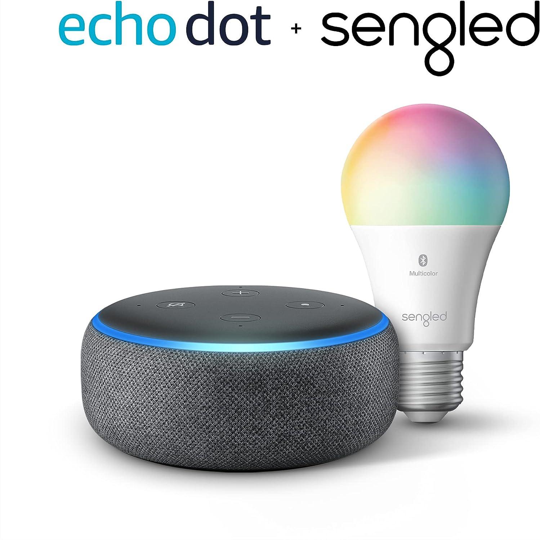 Amazon Echo Dot 3rd Gen Smart Speaker $24.99 Coupon