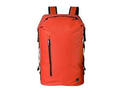 KNOMO London Thames Cromwell Top Zip Backpack (Flash Orange) Backpack Bags