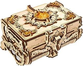 UGears Mechanical Models 3-D Wooden Puzzle - Mechanical Amber Box