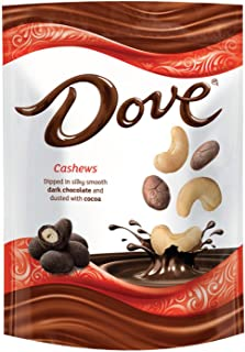 DOVE Cashews With Cocoa and Dark Chocolate Candy 5-Ounce Bag (8 Count)