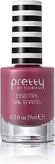 Pretty by Flormar Essential Nail Enamel, Dark Rose 041, 9 ml