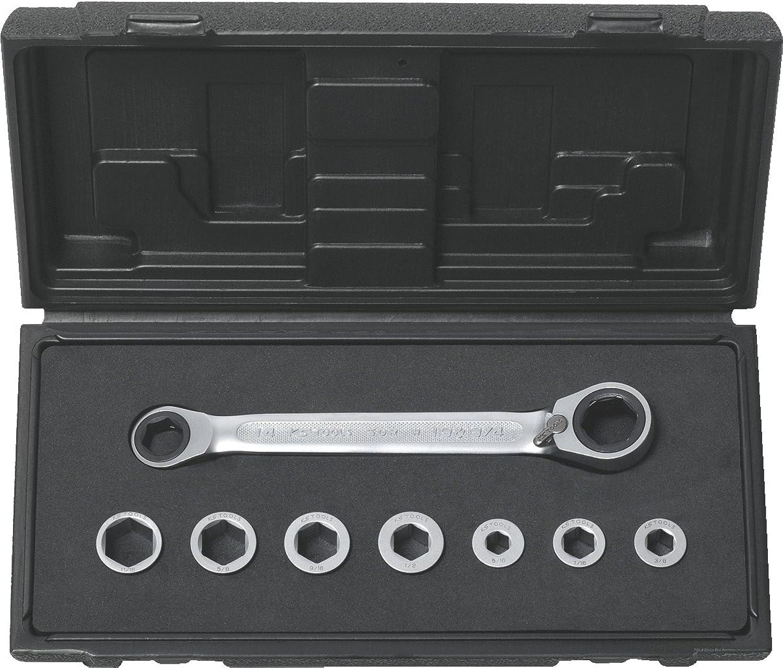 KS Tools 503.4625 GEARplus Doppel-Ratschenringschlüssel-Satz, 8-tlg. B001NYXRB6 | Vorzugspreis