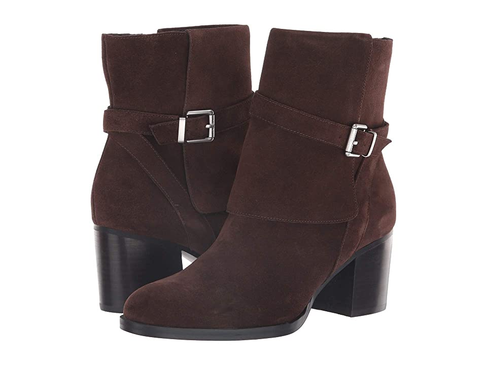 LAUREN Ralph Lauren Gilda (Dark Brown Suede) Women