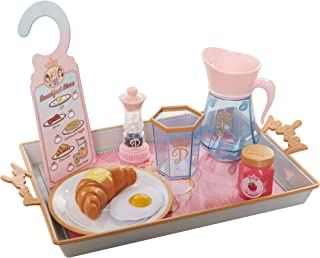 Disney Princess Style Collection Room Service Pretend Play Toy Set - with Serving Tray, Plate Cover, Pitcher & More for A ...