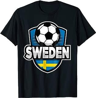 Sweden Football T-shirt For Swedish Soccer Fans