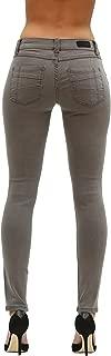 Rubberband Stretch Women's Skinny Jeans (Sarina/Dark Grey)