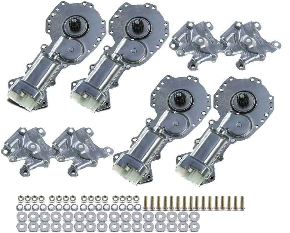 Set of 4 Front and Rear Power Window Motor for Chevrolet GMC Old