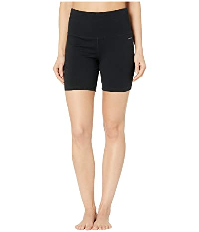 Jockey Active High-Waist Sculpting Bike Shorts (Deep Black) Women