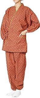 作務衣 日本製 婦人総柄作務衣(さむえ)綿100% 13柄