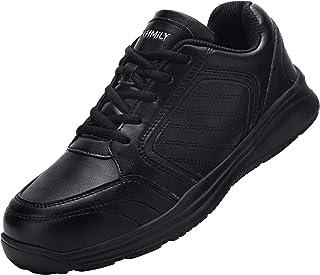 DYKHMILY Chaussures de sécurité Homme Femme Basket de Securite Embout Acier Respirant Chaussures de Travail Legere Anti-Pe...