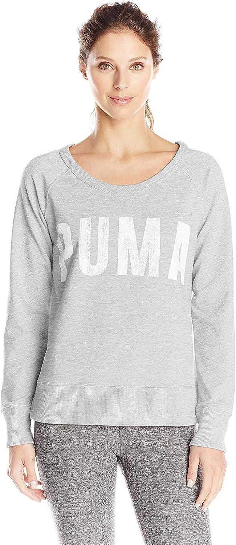 PUMA Women's Sweat Crewneck Sweatshirt