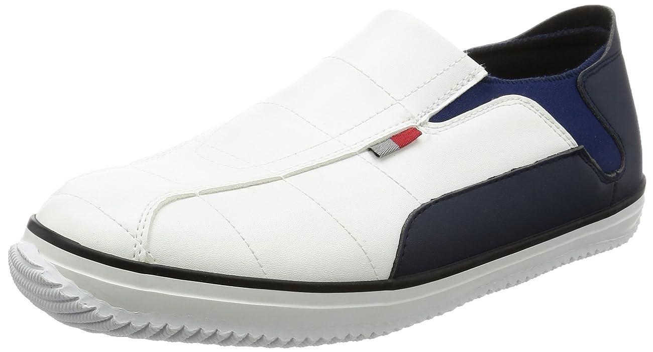 マージンのれんカウントかかとが踏める 先芯入り作業靴 セーフティーペコ SS3-WH-L メンズ