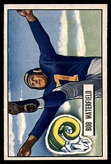 Football NFL 1951 Bowman #40 Bob Waterfield EX Excellent LA Rams