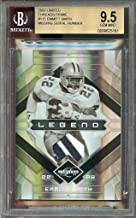 2009 limited threads prime #115 EMMITT SMITH dallas cowboys jersey BGS 9.5 - Unsigned Football Cards