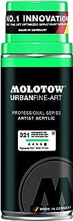 MOLOTOW Urban Fine Art Acrylic Spray Paint, 400ml Can, Emerald Green Light