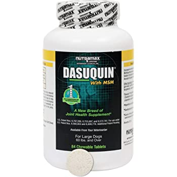 Dasuquin MSM Large Dog, 84 Chewable Tablets