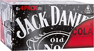 Jack Daniel's & Cola Bottle 330mL (Case of 24)