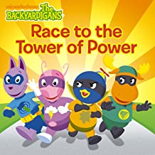 Race to the Tower of Power (The Backyardigans) (Backyardigans (8x8) Book 1)