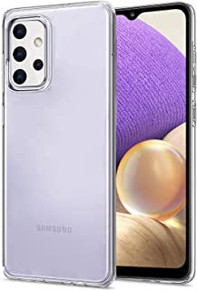 NEW'C Hoesje voor Samsung Galaxy A32 5G, siliconen TPU transparant - HD Crystal Clear