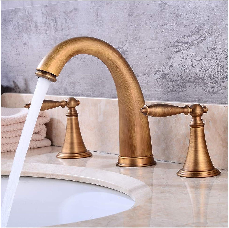 Waschtischarmatur, Geteilte Ausführung Spritzwassergeschützter, Weicher Kalt- Und Warmwassermischer, Bleifreie Messinglegierung, Für Küchen-WC Auerhalb des Waschbeckens