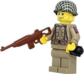 Modern Brick Warfare US Army American WW2 82nd Airborne Ranger Soldier Custom Minifigure