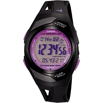 [カシオ] 腕時計 フィズ LAP MEMORY 60 STR300J1CJF ブラック